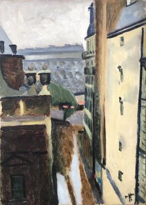 Jacques André Duffour (1926-2016)Passage St. Elizabeth, Paris, 1951