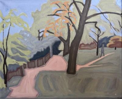 Bryan Senior (b. 1935)Hampstead Heath , 1965