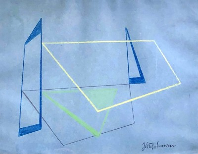 John Cecil Stephenson (1889-1965)Composition, 1938/39