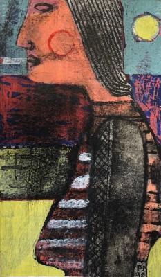 Paul Sonabend (b. 1957)Lonely Figure, 1998