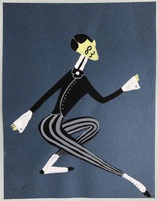 Jacques André Duffour (1926-2016)Dancer, 1948