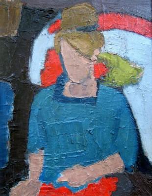 Bryan Senior (b. 1935)Caroline Seated, 1959