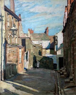 John Anthony Park (1880-1962)Pudding Bag Lane, St. Ives, c. 1920