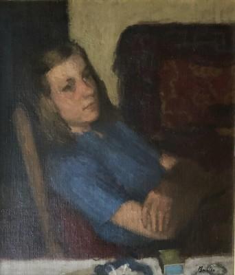Robert Buhler (1916-1989)Portrait of Lisa, 1940