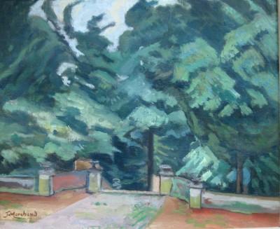 Jean Marchand (1883-1940)Le parc - Garsington, 1919