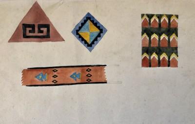 Dorothea Maclagan (1895-1982)Abstract Designs, c. 1930