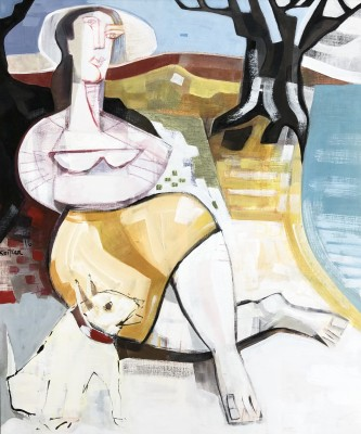 Klara Koitler (b. 1954)The Olive Grove, 2016