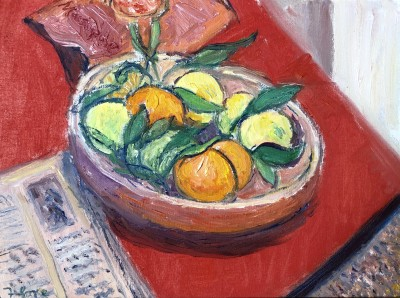 Frederick Gore (1913-2009)Still Life with Oranges