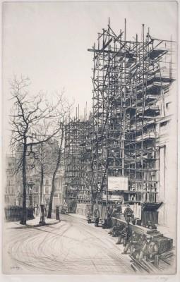 William R. Hay (1886-1964)Reconstruction of Trafalgar Square, 1926