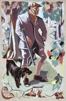 Hans Feibusch (1898-1998)The Countryman, 1937