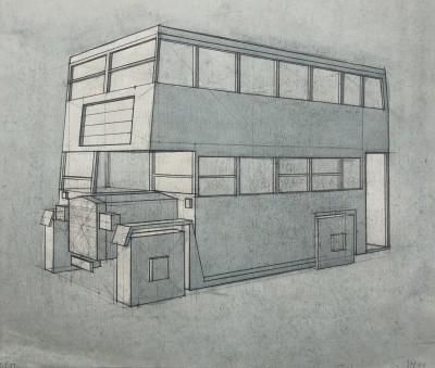 Edith Lawrence (1890-1973)Cubist Bus Design, 1937