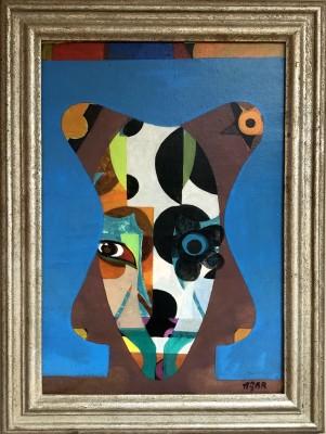Eileen Agar (1899-1991)Spiral Head, 1966