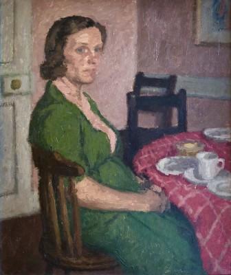 Robert Buhler (1916-1989)Mrs Small - Rogate, 1942
