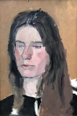 Patrick George (1923-2016)Study for Portrait of Susan Engledow, 1966