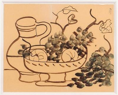 André Derain (1880-1954)Nature morte au pichet, c. 1930