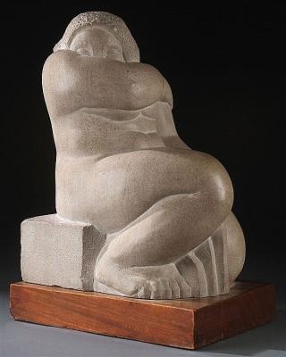Humbert Albrizio (1901-1970)Seated Woman No. 1, 1937