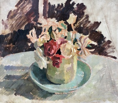 Percy Horton (1897-1970)Still Life with Flowers, c. 1930s