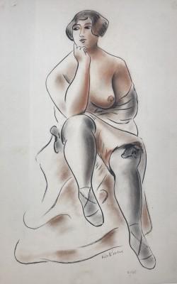 Maurice de Korte (1889-1971)Dancer, c. 1930