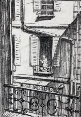 Ethelbert White (1891-1972)Paris, 1912