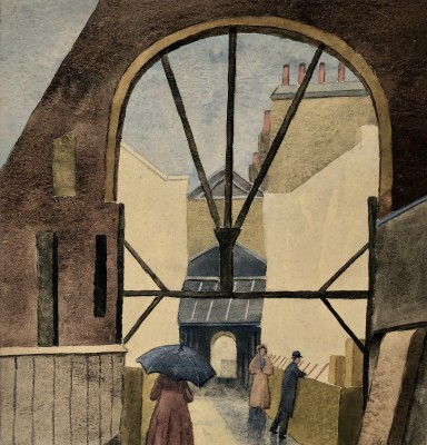 Malcolm Arbuthnot (1897-1967)The Archway, c. 1925