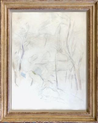 Paul Cézanne (1839-1906)Rochers et arbres, 1890-95