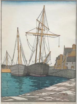 Edward James Ashenden (1896-1952)Old Icelander, Paimpol, 1939