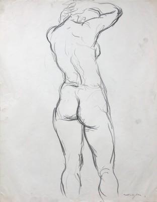 Glyn Morgan (1926-2015)Female Nude Study, c. 1950