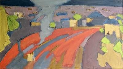 Bryan Senior (b. 1935)Red Junction (Primrose Hill), 1959
