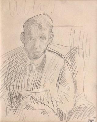 Spencer Gore (1878-1914)Self Portrait, 1913
