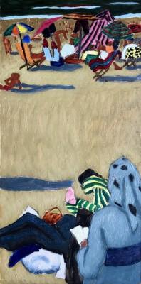 Jacques André Duffour (1926-2016)Sur la plage, c. 1950s