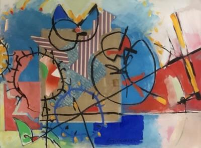 Roy Walker (1936-2001)Composition, 1985