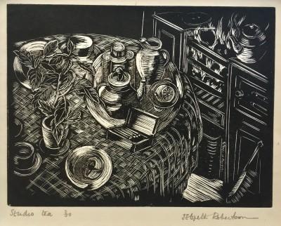 J. Elspeth Robertson (b. 1896)Studio Tea, c. 1925