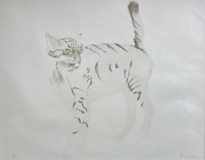 Dame Elisabeth Frink (1930-1993)Wild Cat, 1970