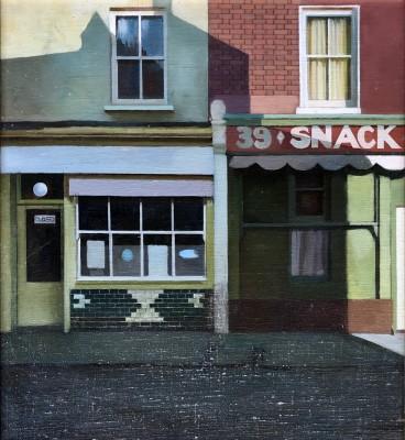 Clifford Charman (1910-1992)Snack Bar, Chelmsford, c. 1955