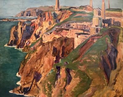 Robert Borlase Smart (1881-1947)Cornish Tin Mines, c. 1920