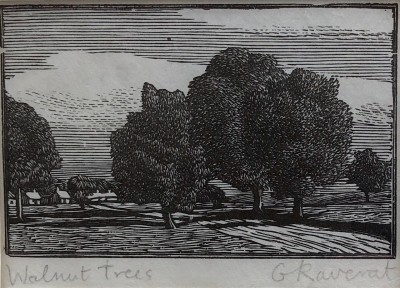Gwen Raverat (1885-1957)Walnut Trees, Noyers et Poirers, 1915