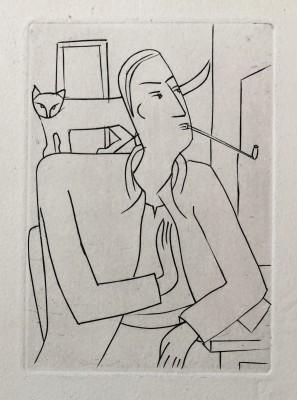 André Derain (1880-1954)Self Portrait, c. 1930