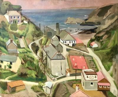 Dorothy Hepworth (1898-1978)Trevavnance Cove, St Agnes, 1928