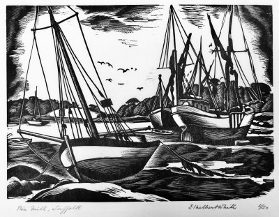 Ethelbert White (1891-1972)Pinmill, Suffolk, 1934