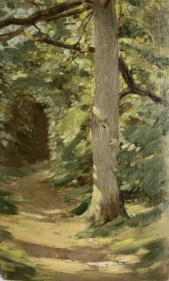 William Cubitt Cooke (1866-1951)The Sunlit Pathway, c. 1910