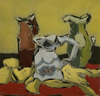 Kenneth Lauder (1916-2004)Three Jugs, 1951