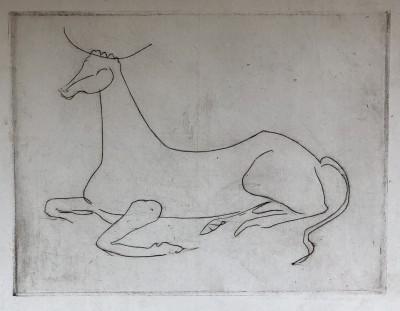 André Derain (1880-1954)La vache, c. 1930
