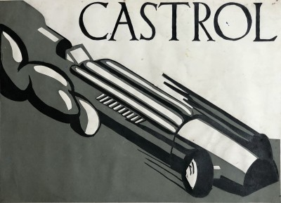 Rowland Hill (1919-2015)Speed - Design for Castrol, 1939