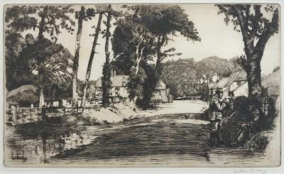 William R. Hay (1886-1964)Country Lane, c. 1920