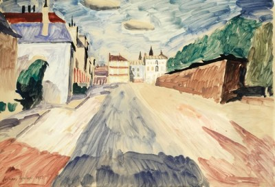 Julian Trevelyan (1910-1988)Street Scene, South of France, 1937