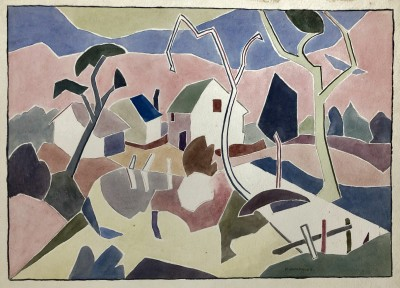Peter Humphrey (1913-2001)The Farm, 1938