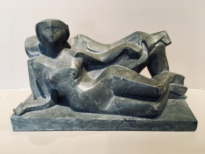 Harold Dow (1902-1967)The Couple (Bergamasque), 1958
