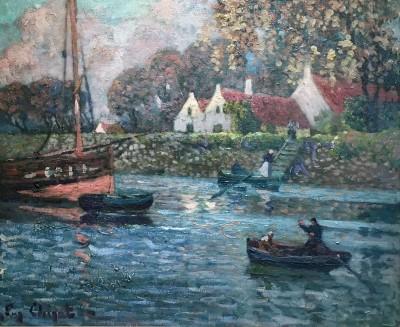 Eugène Chigot (1860-1923)Fraipont, 1905
