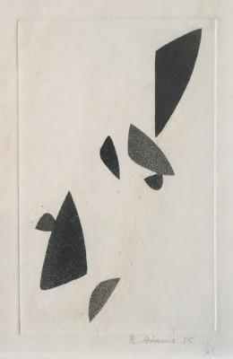 Robert Adams (1917-1984)Composition, 1955