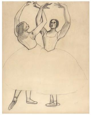 André Derain (1880-1954)Danseuses II (For the Ballets Russes), 1927